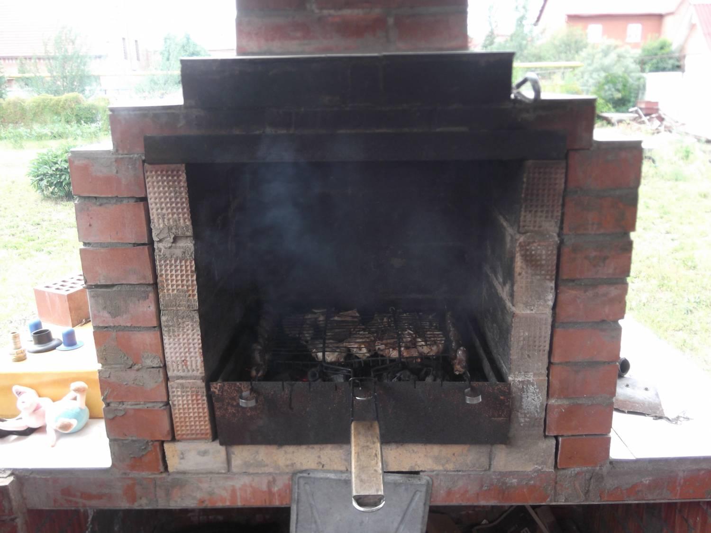 Самодельный складной мангал для шашлыков, гриля 17